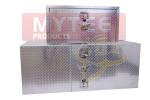 Aluminum Trailer Tool Box Barndoor Style