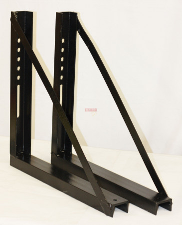 """Mounting Brackets for Trailer Tool Box 22"""" (Height) x 17"""" (Depth)"""