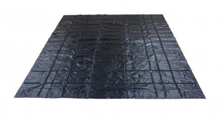 Heavy Duty 18oz Steel Tarp 16' x 24' - Black