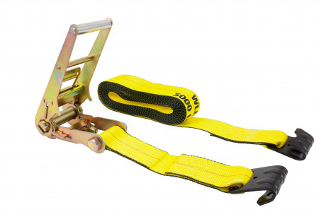 3 in. x 30 ft. Ratchet Strap with Flat Hook