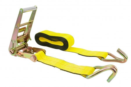 3 in. x 30 ft. Ratchet Strap with Wire Hook