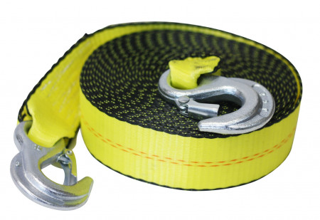 """Tow Straps 2"""" x 20' With Forged Hooks"""