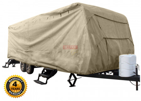 Premium Travel Trailer Covers - 4Y Warranty