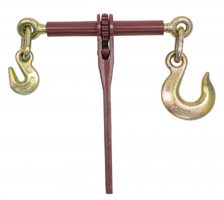 """5/16"""" - 3/8"""" Binder with Grab Hook one side, 1/2"""" Slip Hook on Other, 6600 lbs WLL"""