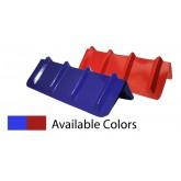 "Corner Protector V Shaped - 8"" x 24"" (Red or Blue)"