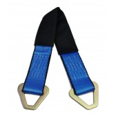 """Axle Strap w/ D-Rings and 12"""" Protective Sleeve"""