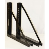 "Mounting Brackets for Trailer Tool Box 22"" (Height) x 17"" (Depth)"