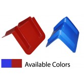 "Corner Protector V Shaped 8"" x 12"" (Red or Blue)"
