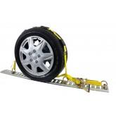 "Over the Tire Wheel Strap w/ E-Track Fittings 2"" x 10',"