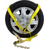 """2"""" Ratchet with 12"""" Chain Extension & 12' Lasso Strap O Ring"""