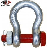 Anchor or Bow Type Shackle Made with Forged Alloy Steel & Alloy Bolt