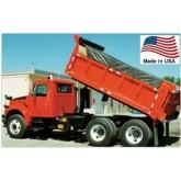 Vinyl Dump Truck Tarp (Side Flap Option) Made in USA