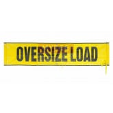 "OVERSIZE LOAD- 18"" x 84' Mesh with Grommets & Rope"