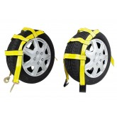 Tow Dolly Wheel Net Basket Straps