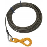 Fiber Core Winch Cable with Self Locking Swivel Hook