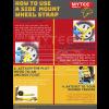 """2""""x10' Side Mount Wheel Net with Ratchet & Swivel J Hook"""