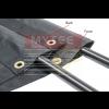 PVC Mesh Tarp for Dump Trucks - Double Pocket