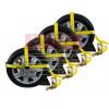 Adjustable Car Tie Down Kit w/ Snap Hooks, 4pc Set